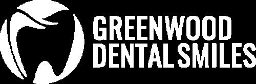 Greenwood Dental Smiles Logo White